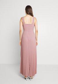 WAL G. - SAFA PLEATED MAXI DRESS - Occasion wear - blush pink - 2