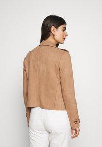 Cartoon - Faux leather jacket - woodsmoke - 2