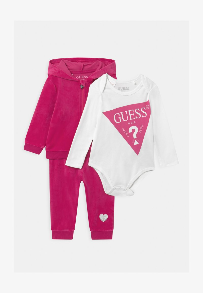 Guess - BABY SET UNISEX - Baby gifts - pink