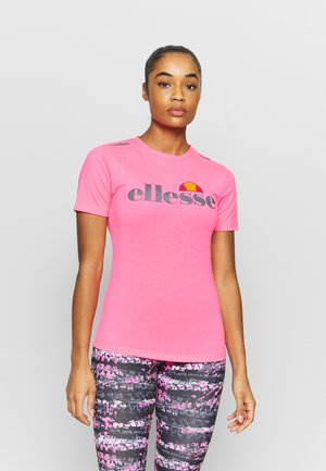 DELLE - Print T-shirt - neon pink