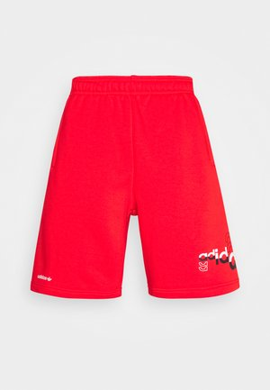 LOGO PLAY UNISEX - Shorts - red