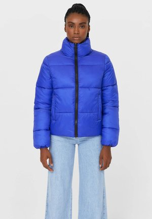 MIT REISSVERSCHLUSS - Winter jacket - blue