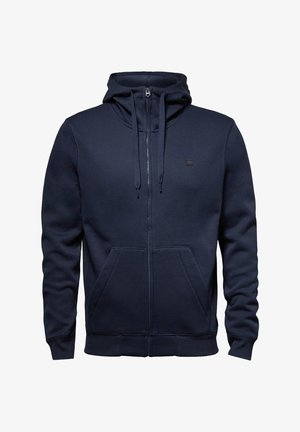 PREMIUM BASIC HOODED ZIP - Collegetakki - sartho blue