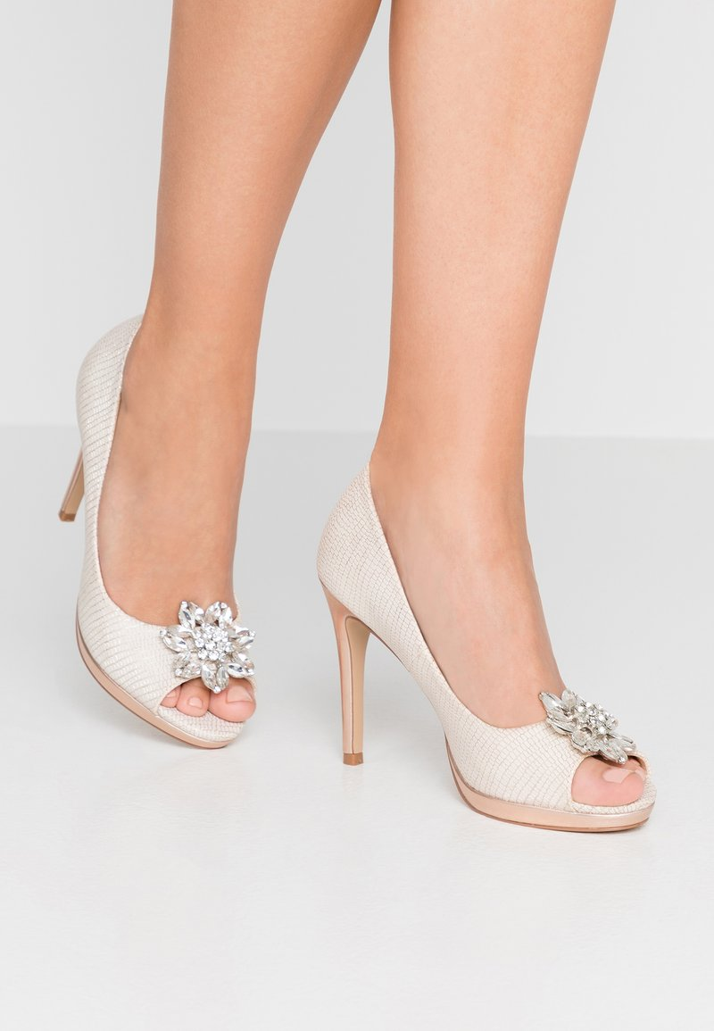 Lulipa London - DULCE - Peeptoe heels - blush