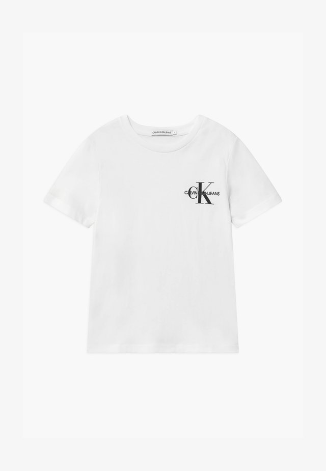 CHEST MONOGRAM UNISEX - T-shirt print - white