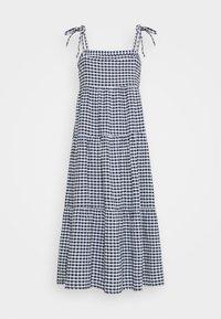 Seafolly - ELDORADOALLY GINGHAM TIERED DRESS - Complementos de playa - blue - 1