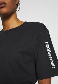 H2O Fagerholt - SECRET LOVE TEE - Print T-shirt - black - 5