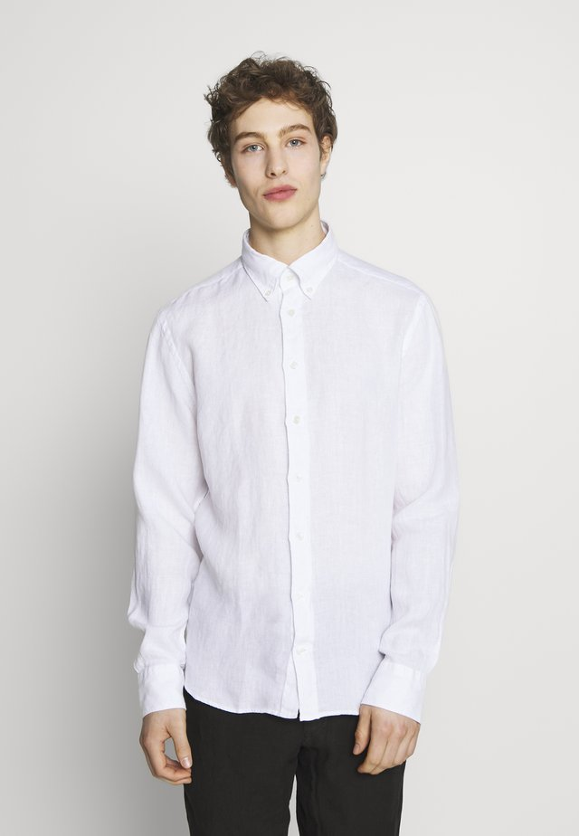 GARMENT DYE SLIM FIT - Hemd - optic white
