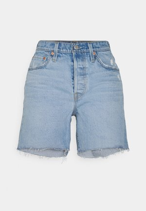 501® MID THIGH SHORT - Farkkushortsit - tango crushed short
