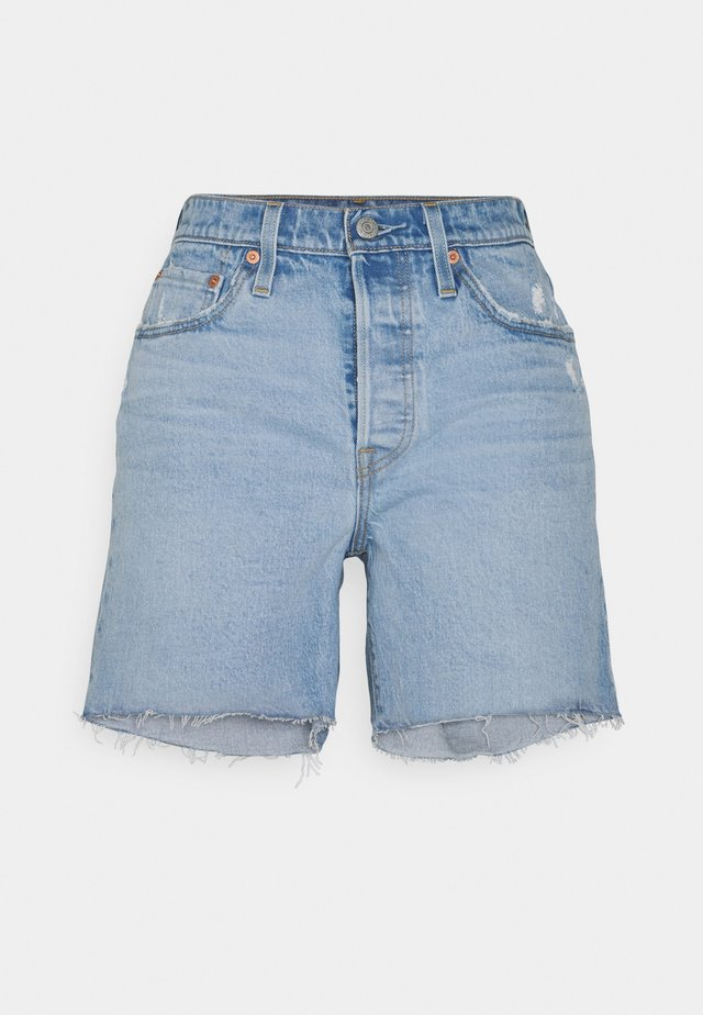 501® MID THIGH SHORT - Denim shorts - tango crushed short