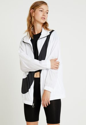 Windbreaker - white/black