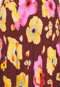 YAS - YASPHANNI SMOCK SKIRT - A-line skirt - madder brown - 2