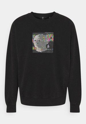 ANIMOSCILLATOR CREW - Ikdienas džemperis - black