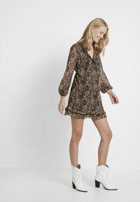 Topshop Maternity - RUFFLE MINI - Day dress - multi - 1