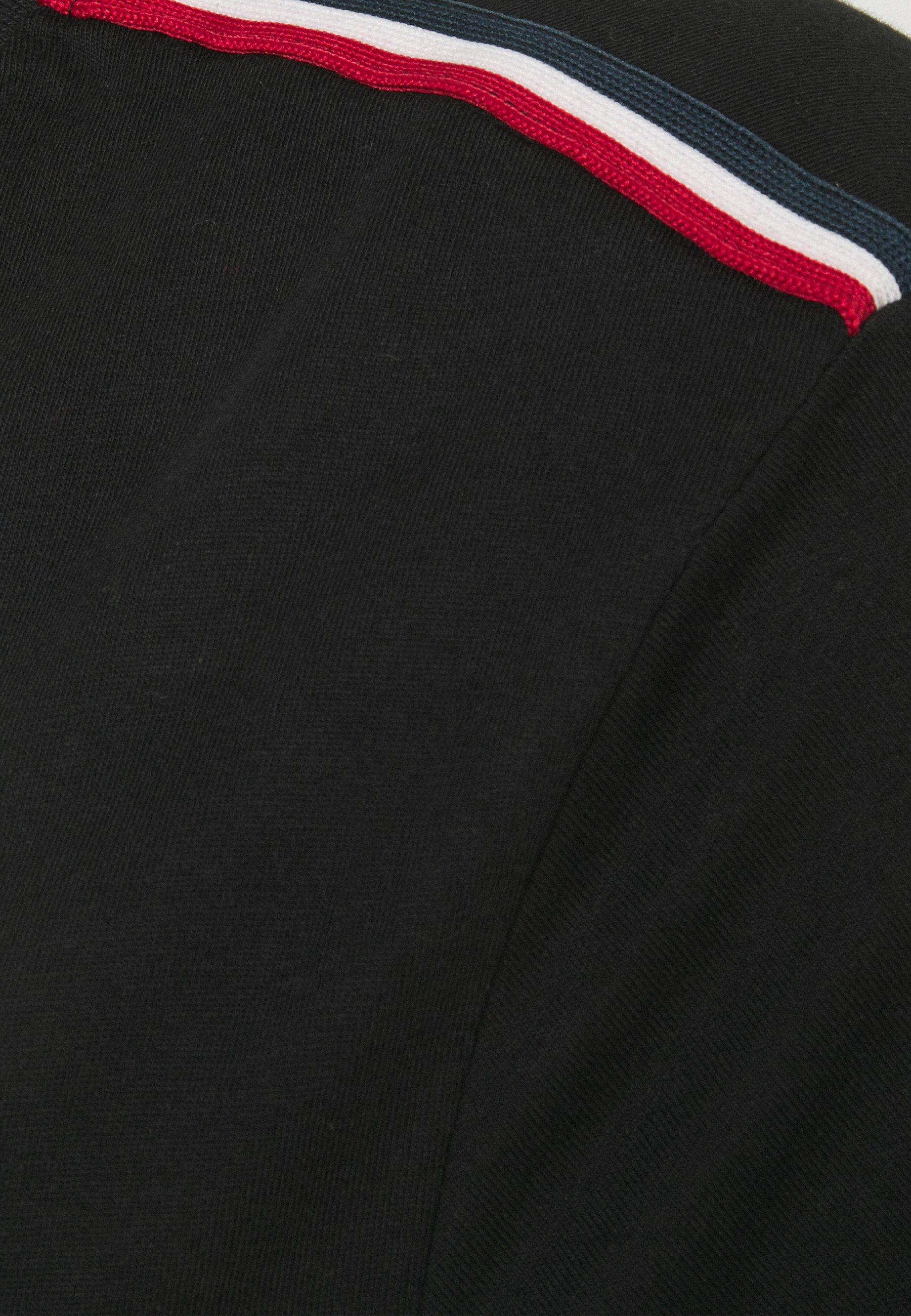 Brave Soul ELMIRA - Basic T-shirt - black ESTIt