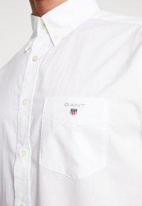 GANT - THE BROADCLOTH - Chemise - white - 5