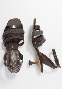 Pedro Miralles - Sandals - coco louisiana/marron nature testa - 3