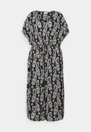 PASSA AMI DRESS - Day dress - black/chal