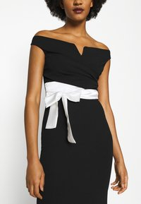WAL G. - BARDOT BAND DRESS - Occasion wear - black - 5