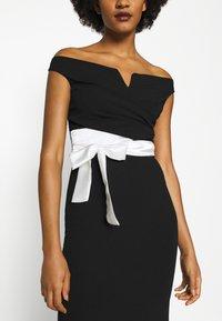 WAL G. - BARDOT BAND DRESS - Suknia balowa - black - 5