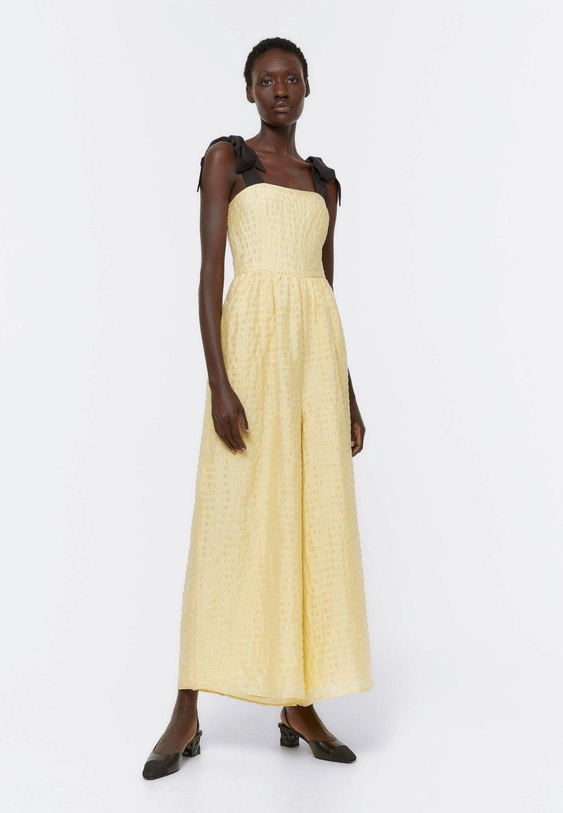 Uterqüe - Jumpsuit - yellow