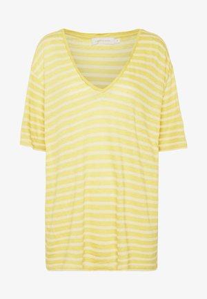 T-shirt basic - celery