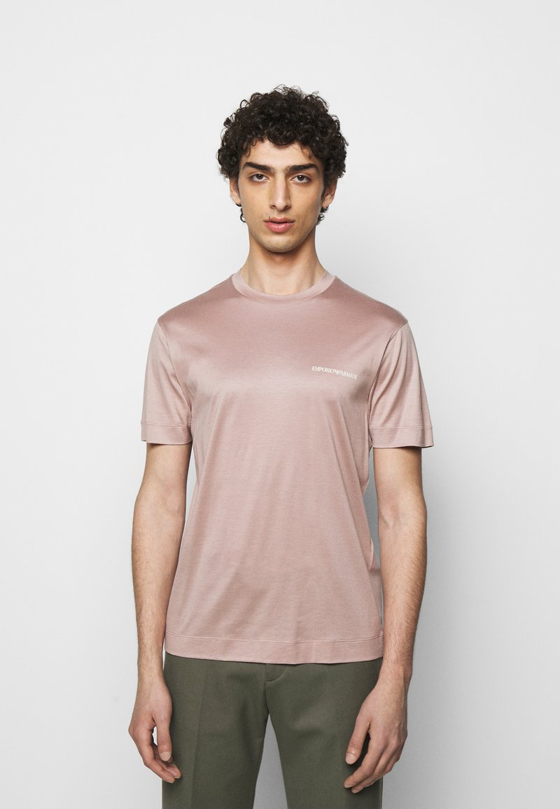 Emporio Armani - Basic T-shirt - light pink