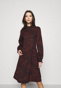 ONLY - ONLZILLE SMOCK DRESS - Jersey dress - port royale - 0
