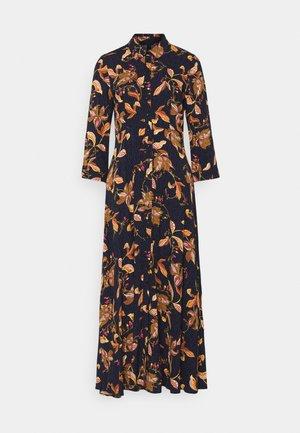 YASSAVANNA FLORA LONG DRESS - Maxiklänning - black