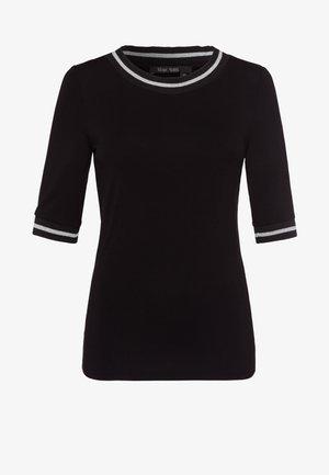 Print T-shirt - black varied