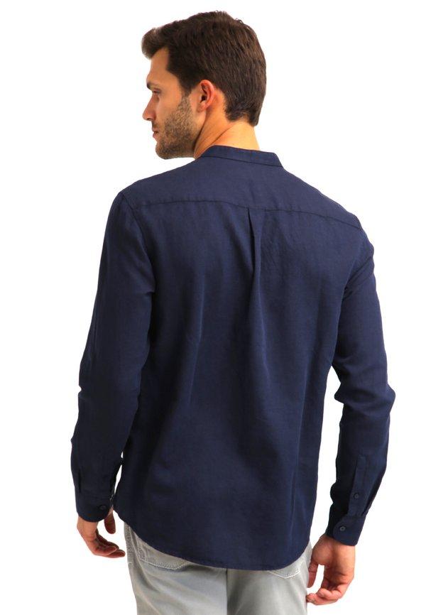 Pier One Koszula - dark blue/granatowy Odzież Męska KJEE
