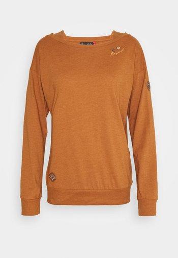 NEREA - T-shirt à manches longues - cinnamon