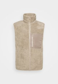 Peak Performance - ORIGINAL PILE VEST - Väst - celsian beige - 0