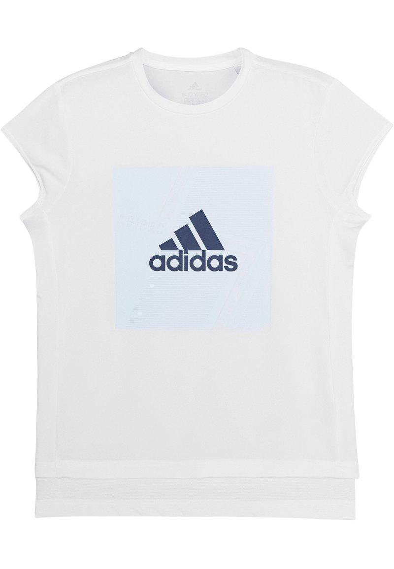 adidas Performance - TEE - Triko spotiskem - white