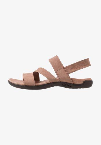 DISTRICT KANOYA STRAP - Walking sandals - carob
