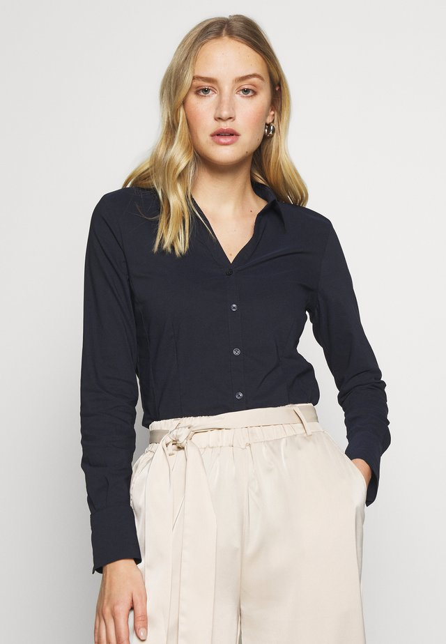 BLOUSE BILLA - Button-down blouse - marine