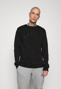 AMICCI - SAVONA - Sweatshirt - black - 0
