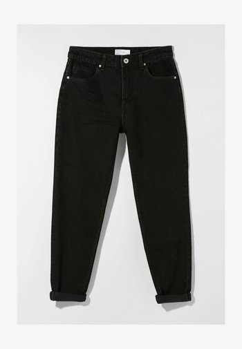 MOM FIT - Jeans baggy - black