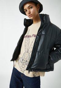 PULL&BEAR - Print T-shirt - light yellow - 3