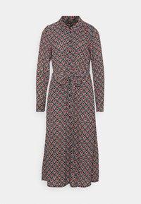 OLIVE DRESS PALMER - Abito a camicia - black
