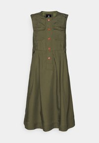 G-Star - FIT AND FLARE DRESS - Day dress - combat - 0