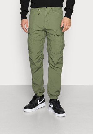 CONNER CARGO JOGGER - Cargo trousers - bright olive