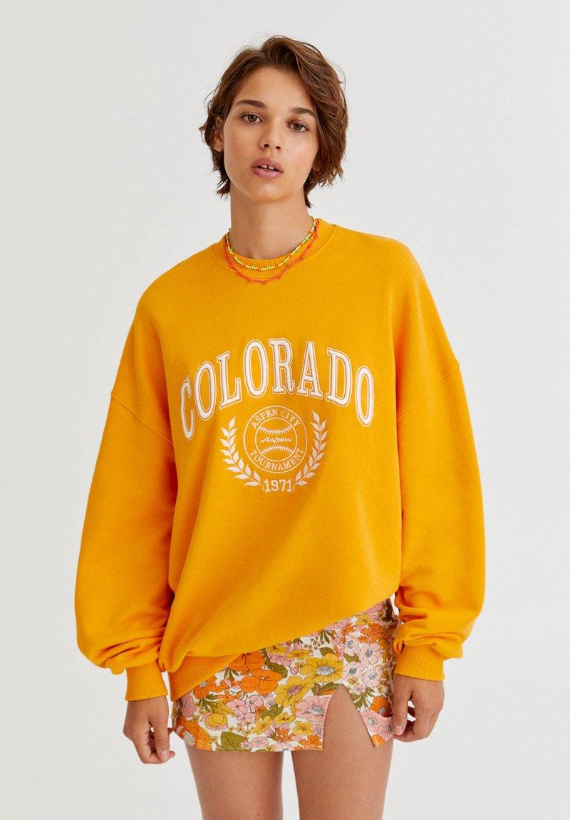 PULL&BEAR - Sweatshirt - orange