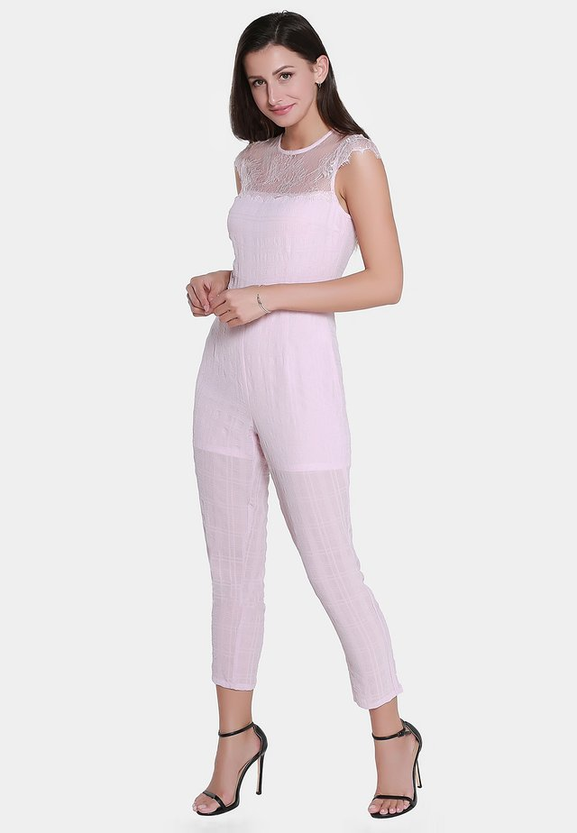 Jumpsuit - light pink
