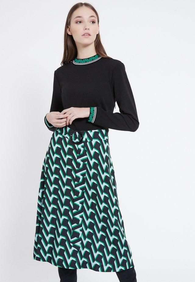 VABURY - Korte jurk - green