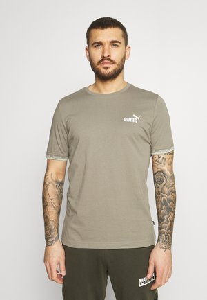 AMPLIFIED TEE - T-shirts print - vetiver