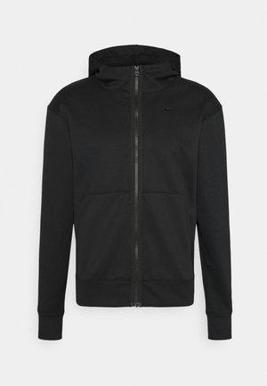 SPOTLIGHT HOODIE  - Bluza z kapturem - black