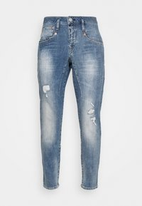 Herrlicher - SHYRA CROPPED STRETCH - Relaxed fit jeans - blend destroy - 4