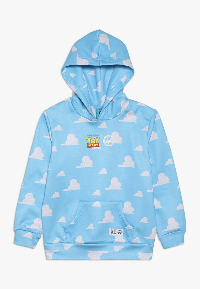 KIDS OVERHEAD HOODIE CLOUDS - Jersey con capucha - blue