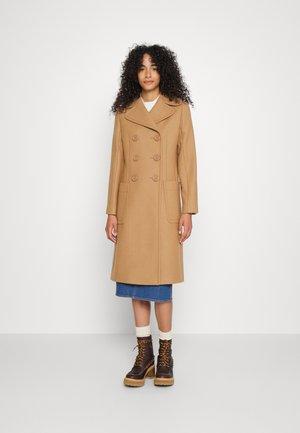 Klasický kabát - vegetal brown